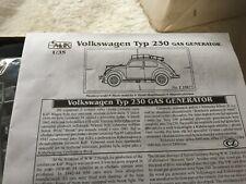 CMK 35017 Volkswagen Typ 230 Gas Gen scale model kit