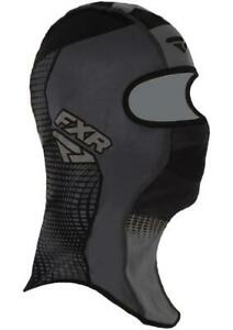 FXR SHREDDER TECH Balaclava Face Mask Snow Snowmobile -BLACK OPS- LARGE - NEW