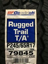 1 New 245 65 17 BFGoodrich Rugged Trail T/A Tire