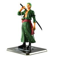 1x Comics Anime One Piece Battle Action Figure Toy Roronoa Zoro Figurine Statue