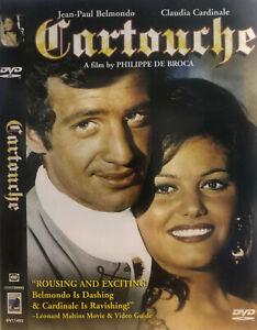Cartouche DVD 1962 - Claudia Cardinale - Swashbuckling Romantic Comedy