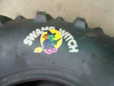 TWO 27/10.00-12, 27/10.00x12  Six Ply ATV SWAMP WITCH Four Wheeler Tires