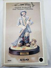 "Emmett Kelley Jr. Flambro ""Autumn"" Clown #9534 - Limited Production # 582"