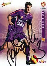 ✺Signed✺ 2007 2008 PERTH GLORY A-League Card DAVID TARKA