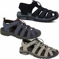 Mens Summer Sandals Walking Trail Trekking Sandals Lightweight Fisherman Shoes