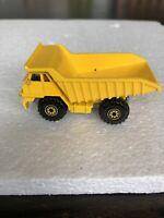 Hot Wheels LOOSE  Vintage - Yellow Dump Truck