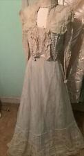 Magnificent Antique Ladies Victorian Lace Dress