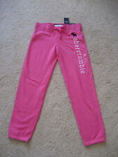 NWT Abercrombie Kids Girls Classic Banded Sweatpants Size L