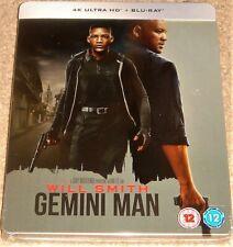 Gemini Man Steelbook / DOLBY VISION / 4K UHD+BLU RAY / WORLDWIDE SHIPPING