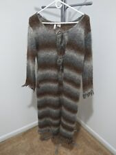 Twiggy Mohair-Blend Sweater - Long - Ladies Size L - Good Condition
