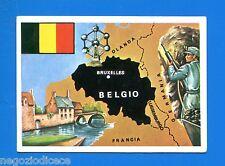 LA TERRA - Panini 1966 - Figurina-Sticker n. 147 - BELGIO -New