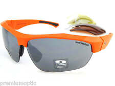 Sunwise Intercambiable 4 Lentes SHIPLEY Gafas de sol Mates NARANJA