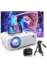 New listing Bomaker WiFi Mini Projector Hd 1080P Supported, Native 1280x720P&120 Ansi lumen