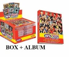 2018 AFL TEAMCOACH TEAM FOOTY TRADING CARDS SEALED BOX 36 PACKS + ALBUM