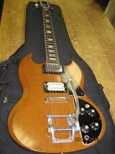 1971 1972  Gibson SG DELUXE Standard natural with gibson bigsby