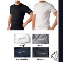 KAPPA T-Shirts Unterzieh-Shirt, Unterhemd 4 Farben 100 % Baumwolle Hemd kurzarm
