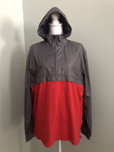 NWT Under Armour Loose Mens L Sportstyle Woven ¼ Zip Hoody Lightweight Jacket