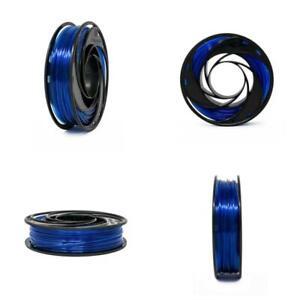Gizmo Dorks Polycarbonate Filament for 3D Printers 3mm (2.85mm) 200g, Blue