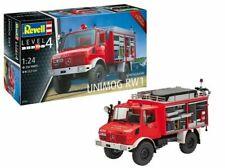 Revell 07531 MB Unimog RW 1 Feuerwehr Modellbausatz 1:24 NEU