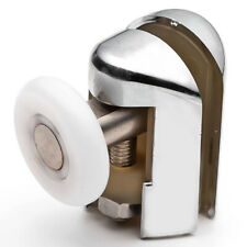 1 x Chromeplated Top Shower Door Rollers/Runners/Wheels 25mm Replacements L069