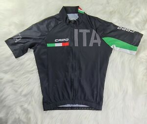capo cycle jersey men's (M)  Italia classic short sleeve SHIPPED PROMPTLY