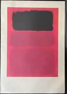 MARC ROTHKO - LITHOGRAPH ON PAPER - MASTERPIECE!