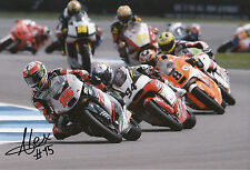 Alex De Angelis Hand Signed 2014 Moto2 Tasca Racing Suter 12x8 Photo 7.