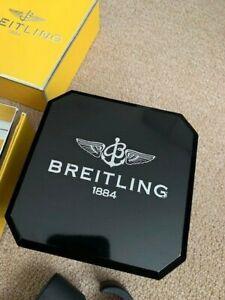 BREITLING ORIGINAL AUTHENTIC BAKELIT WATCH BOX CASE BLACK