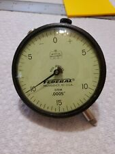 FEDERAL DIAL INDICTOR D5M .0005 FULL JEWELED MIRACLE MOVEMENT USA