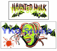 Museum Quality Reproduction MPC Haunted Hulk Pirate Ship Sticker Set Decals