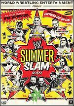 WWE: Summerslam 2009 (DVD, 2009) (brand new factory sealed) dvd