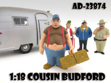 "COUSIN BUDFORD ""TRAILER PARK"" FIGURE 1:18 SCALE MODELS AMERICAN DIORAMA 23874"