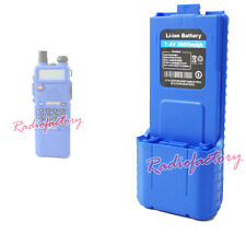 7.4V 3600mAH  Blue Ultra High Battery For UV-5R Dual Band UHF/VHF Radio