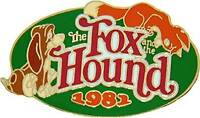 Disney DS Countdown to the Millennium Series #28 Fox and the Hound Pin