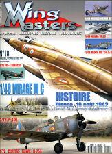 WING MASTERS N°18 MIRAGE IIIC DIEPPE 1942 BLOCH MB 174