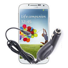 Car Charger For Samsung Galaxy S4 Smart Phone With Micro USB Connection 12/24V