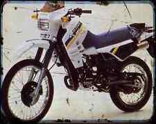 Cagiva Elefant 125 87 A4 Metal Sign Motorbike Vintage Aged