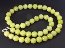 """RARE HEALERITE NECKLACE FROM USA - 19"""" - 10mm ROUND BEADS"""