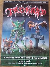 TANKARD BIG POSTER ! Destruction/Metallica/Slayer/Sodom/Kreator/Grave Digger/UDO