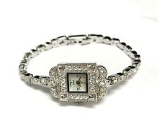 Croton Rhinestone Encrusted Women's Watch.