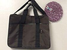Calvin Klein brief case laptop messenger shoulder bag H38