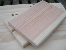 """Qty 2 - 8"""" Long x 5.76"""" Deep Solid Pine Shelves Chinchilla / Chipmunks/Degu"""