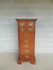 """Kincaid Cresent Quality Cherry Chippendale Style Lingerie Chest 52.75""""H x 22""""W"""