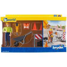 NEUF BRUDER TOYS Bruder Bworld Construction Set avec Figurine-Bruder 62000