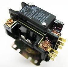 Definite Purpose Contactor HVAC 30 Amp 30A 1 Pole +Shunt 240 Volt Coil UL