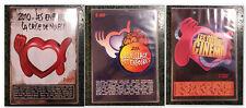 LOT LES ENFOIRES 3 COFFRETS DOUBLE DVD 2006 2009 2010