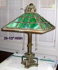 1920 - 1935 TIFFANY STYLE LAMP for TABLE or DESKTOP