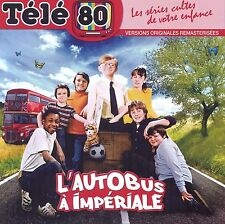 "CD NEUF ""TELE 80 - L'AUTOBUS A L'IMPERIALE (Double-decker bus)"" 11 titres"