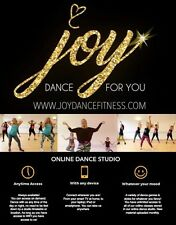 Online Dance Fitness - dance studio that can be accessed 24/7 on any device