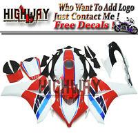 Red Black White ABS Fairing Bodywork Kit For Honda CBR1000 CBR1000RR 08 09 10 11
